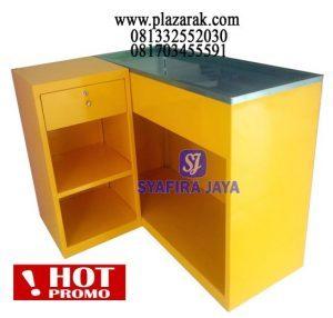 Meja Kasir Minimarket P125